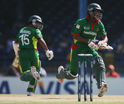 Bangladesh vs India - Cricket Worlcup 2007