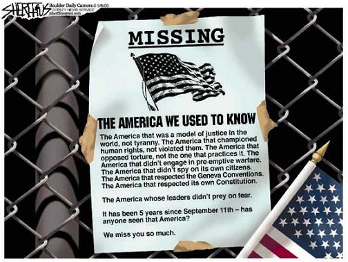 Missing - The America We Used to Know