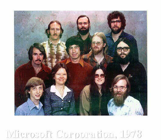 Microsoft Incorporation, 1978