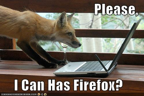 Please Can I have Firefox ?
